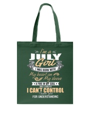 I'm A July Girl T-Shirt Funny July Birthday Gifts Tote Bag thumbnail