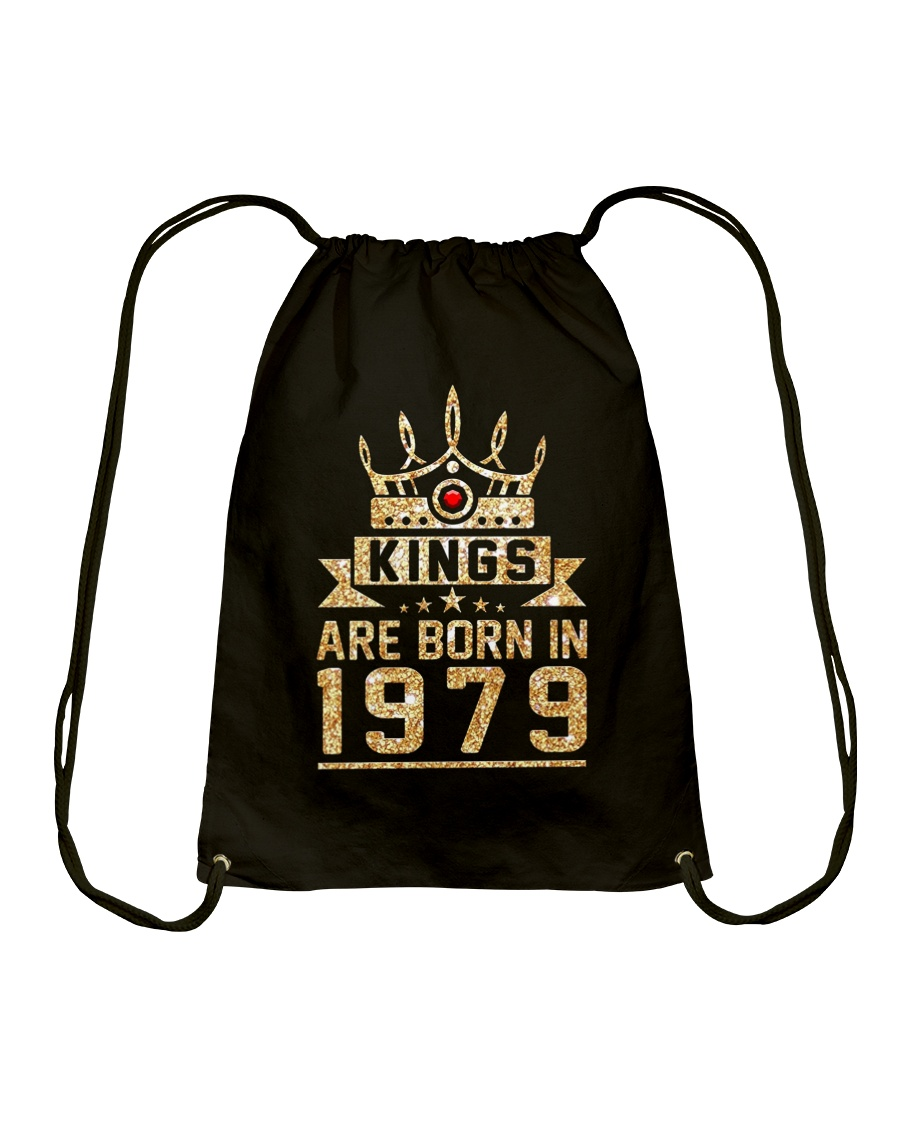 Kings born in 1979 39th Birthday Gift 39 years old Drawstring Bag