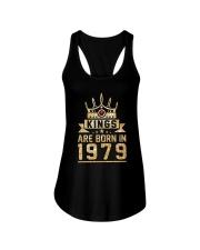 Kings born in 1979 39th Birthday Gift 39 years old Ladies Flowy Tank thumbnail