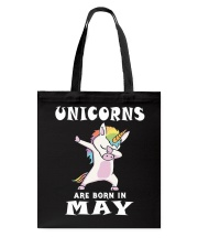 Cute Unicorns Are Born In May Novelty Gift T-Shirt Tote Bag thumbnail