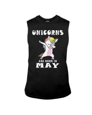 Cute Unicorns Are Born In May Novelty Gift T-Shirt Sleeveless Tee thumbnail