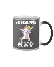 Cute Unicorns Are Born In May Novelty Gift T-Shirt Color Changing Mug thumbnail