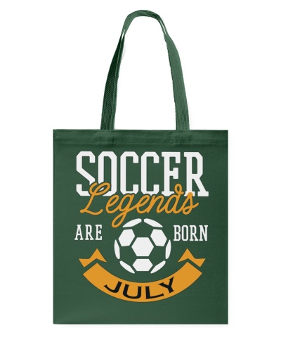 Soccer Legends Are Born In July Birthday Gift T-sh