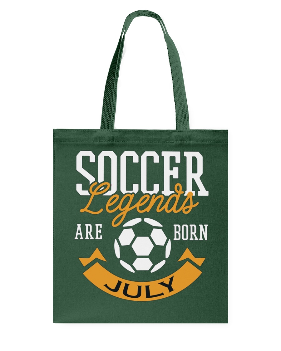 Soccer Legends Are Born In July Birthday Gift T-sh Tote Bag