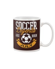 Soccer Legends Are Born In July Birthday Gift T-sh Mug thumbnail