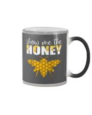 Show Me The Honey T-Shirt Beekeeper Beekeeping  Color Changing Mug thumbnail