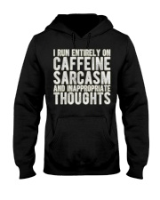Gifts For Coffee Drinkers Funny Profanity Humor  Hooded Sweatshirt thumbnail
