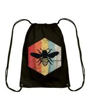Retro Beekeeper T-Shirt Drawstring Bag thumbnail