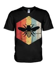 Retro Beekeeper T-Shirt V-Neck T-Shirt thumbnail
