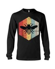 Retro Beekeeper T-Shirt Long Sleeve Tee thumbnail