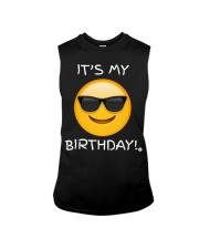 Birthday Emoji T Shirt It's My Birthday Sunglasses Sleeveless Tee thumbnail