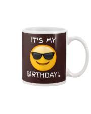 Birthday Emoji T Shirt It's My Birthday Sunglasses Mug thumbnail