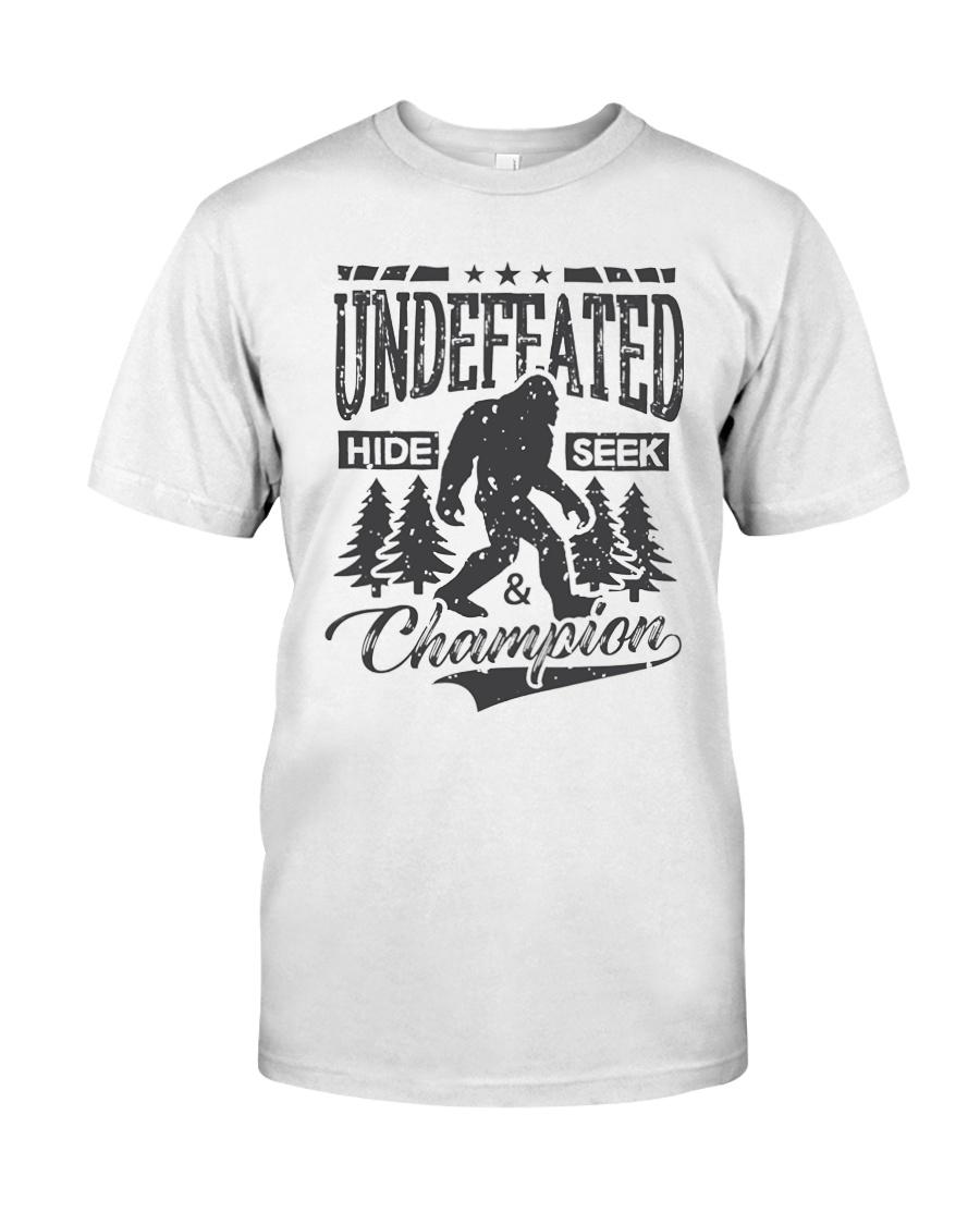 499478dc5 Bigfoot T-shirt Undefeated Hide Seek Sasquatch Y Classic T-Shirt