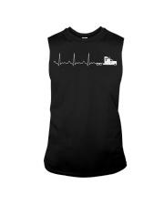 Truck Driver Pulse Big Rig Trucking Shirt Gift For Sleeveless Tee thumbnail