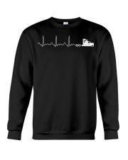 Truck Driver Pulse Big Rig Trucking Shirt Gift For Crewneck Sweatshirt thumbnail