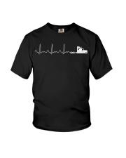 Truck Driver Pulse Big Rig Trucking Shirt Gift For Youth T-Shirt thumbnail