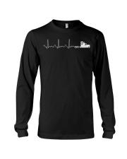 Truck Driver Pulse Big Rig Trucking Shirt Gift For Long Sleeve Tee thumbnail