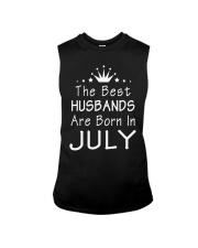 The Best Husbands Are Born In July T-Shirt Sleeveless Tee thumbnail