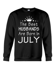 The Best Husbands Are Born In July T-Shirt Crewneck Sweatshirt thumbnail