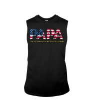 Mens Mens Papa The Veteran The Myth The Legend  Sleeveless Tee tile