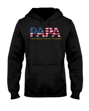 Mens Mens Papa The Veteran The Myth The Legend  Hooded Sweatshirt thumbnail
