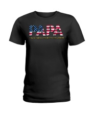 Mens Mens Papa The Veteran The Myth The Legend  Ladies T-Shirt thumbnail