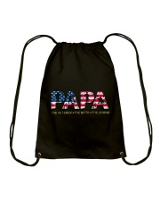 Mens Mens Papa The Veteran The Myth The Legend  Drawstring Bag tile