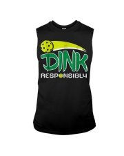 Dink Responsibly Pickleball T-Shirt Pickleball Lov Sleeveless Tee thumbnail