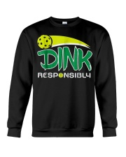 Dink Responsibly Pickleball T-Shirt Pickleball Lov Crewneck Sweatshirt thumbnail