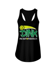 Dink Responsibly Pickleball T-Shirt Pickleball Lov Ladies Flowy Tank thumbnail