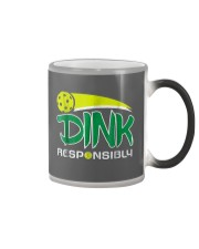 Dink Responsibly Pickleball T-Shirt Pickleball Lov Color Changing Mug thumbnail