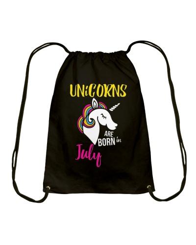 Unicorns Are Born In July Unicorn Birthday Gift Te