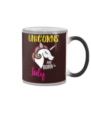 Unicorns Are Born In July Unicorn Birthday Gift Te Color Changing Mug thumbnail