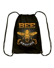 Bee Whisperer Honey Farmer Beekeeper Beekeeping Drawstring Bag thumbnail