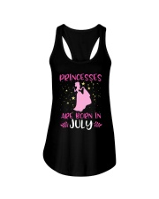 Princesses Are Born in July Shirt Birthday Girl T- Ladies Flowy Tank thumbnail