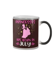 Princesses Are Born in July Shirt Birthday Girl T- Color Changing Mug thumbnail