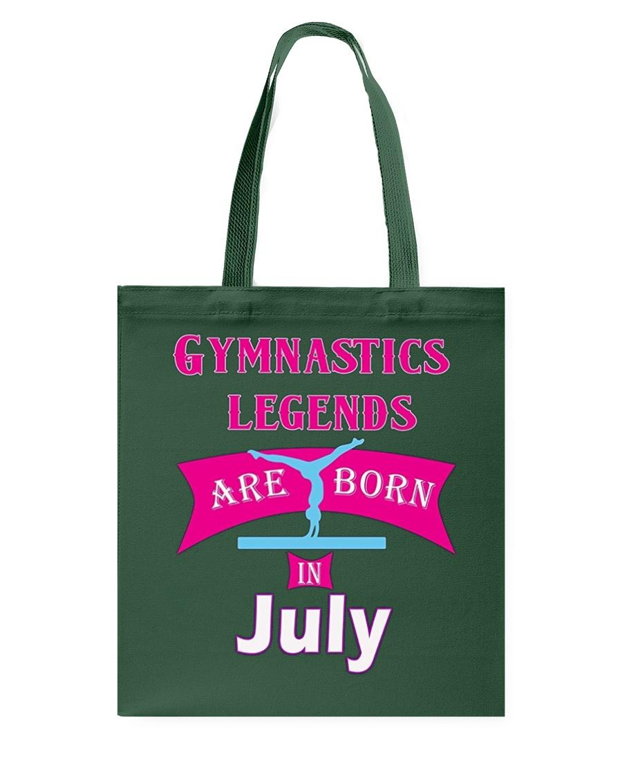 Girls' Gymnastics Gift T-Shirt -Legends are Born i Tote Bag