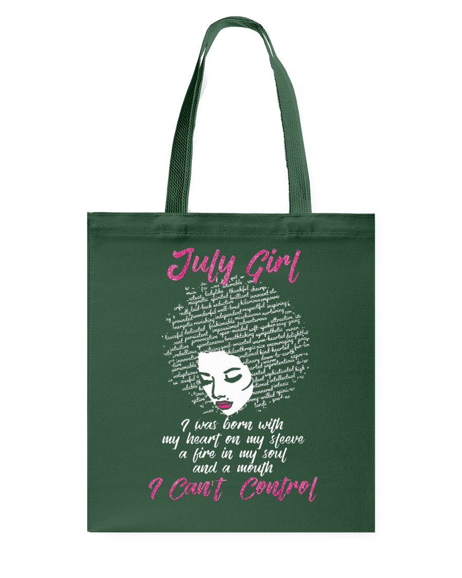 I'm a July Girl Shirt Funny Birthday T-Shirt for W Tote Bag