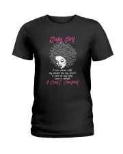 I'm a July Girl Shirt Funny Birthday T-Shirt for W Ladies T-Shirt thumbnail