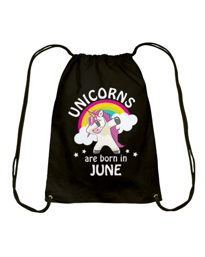 Unicorns Are Born In June Birthday Dabbing T-Shirt