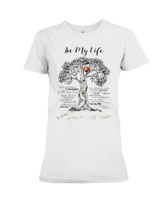 In my life Premium Fit Ladies Tee thumbnail