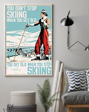 you don't stop skiing  11x17 Poster lifestyle-poster-1