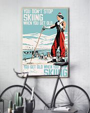 you don't stop skiing  11x17 Poster lifestyle-poster-7