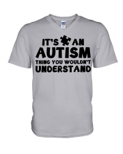 It's An Autism Thing You Wouldn't Understand V-Neck T-Shirt thumbnail
