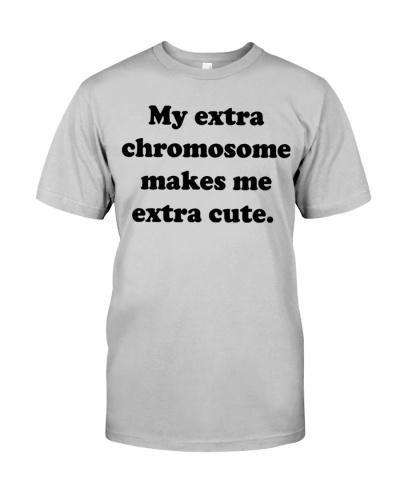 My extra chromosome makes me extra cute