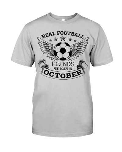 REAL FOOTBALL LEGENDS ARE BORN IN OCTOBER