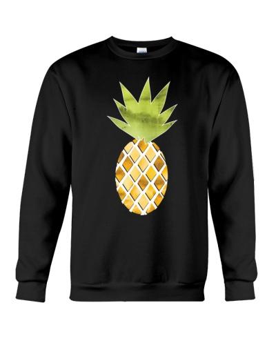 Tropical Watercolor Pineapple