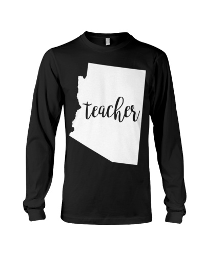 Arizona Teacher home state back to school tee s 4