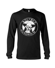 Knuckle sandwich guy fieri shirt Long Sleeve Tee thumbnail