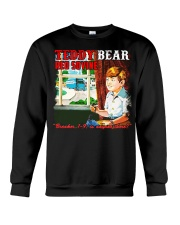 IS ANYONE THERE Crewneck Sweatshirt thumbnail